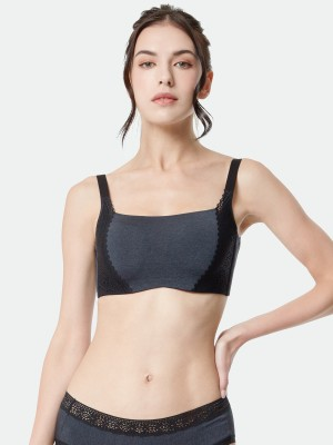 NiTi Shape-Memory Wire Moulded Full Cup Camisole Bra (Cup D-E)