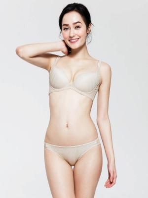 Jacquard Lace Bikini Brief