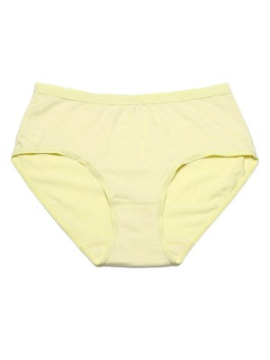 Basic Cotton Blended Low-rise Brief