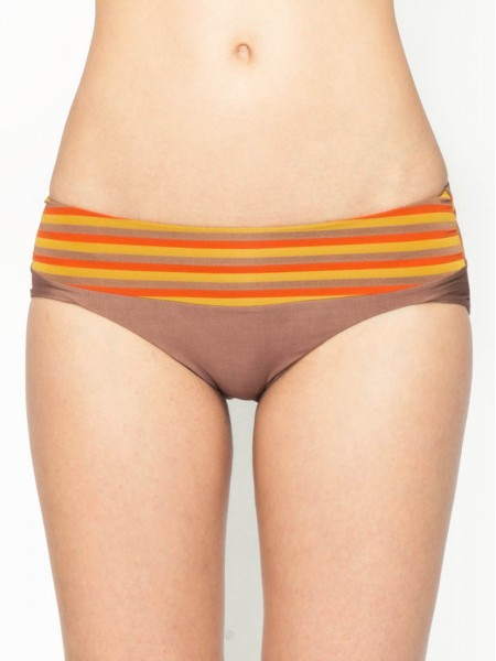 Holiday Striped Bikini Brief