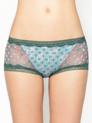 Peacock Mesh Boxer Shorts