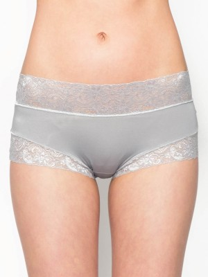Lace Trimmed Tactel® Low-rise Boxer