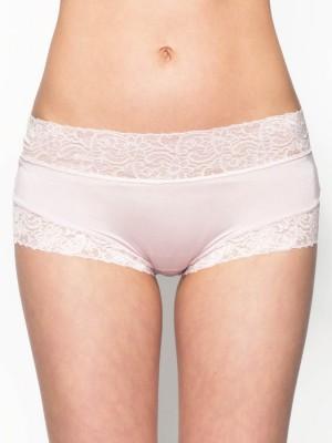 Lace Trimmed Tactel® Low-rise Boxer
