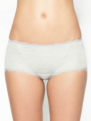 Lace Trimmed Boxer Shorts