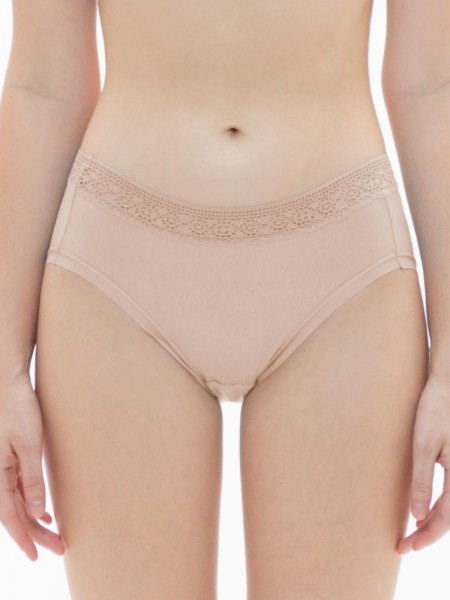 Lace Trimmed Low-rise Brief