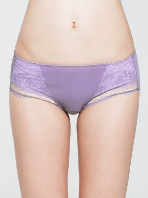 Lace Seamless Short Brief