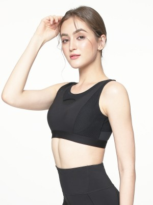 High-Impact Peek-A-Boo Wireless Sports Bras (Cup C-G)