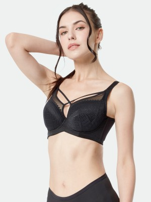 Front Cross Minimizer Full Cup Soft Bra (Cup F-I)
