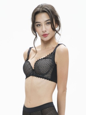 Lace Push-up Demi Moulded Bra