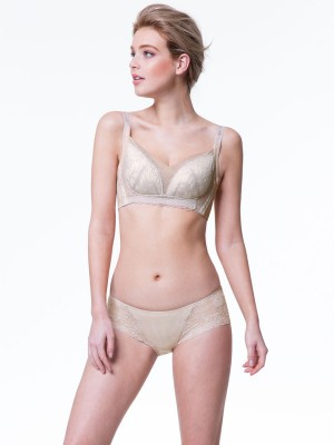 Lace Non-Wired Push in Bra