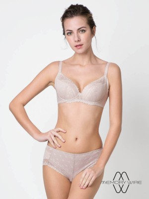 NiTi Shape-Memory Wire Plunge Bra (Cup A-D)