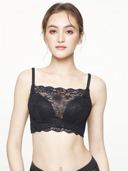 Modest Lace Mock Half Cami