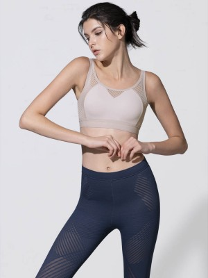 Warp Knit Wireless Moulded Sports Bra