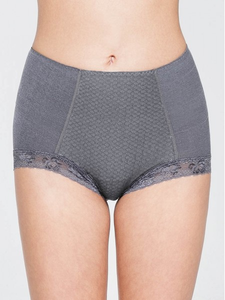 Cotton-blended Lite-control Brief 2 pack