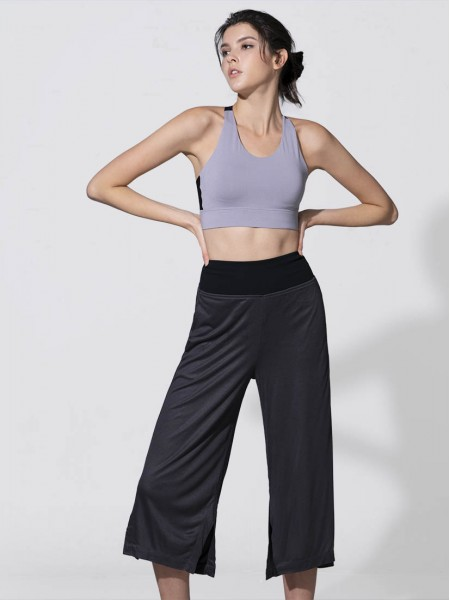 Lite-Control High Waist Wide Leg Crop Pants
