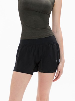 "4"" Two-in-One Running Shorts"