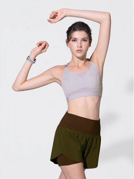 """4"""" Two-in-One Running Shorts"""