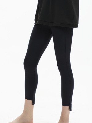 Step-hem Shaping Leggings