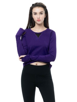 Crop Top With Thumbhole