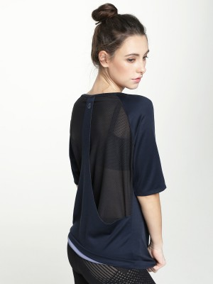 Elbow Sleeve Free Cut Back Vent Tee