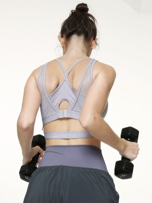 Crossover Wireless Sports Bra (Cup B-D)