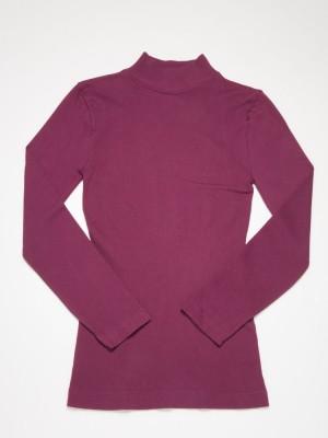 Seamless Thermal Long Sleeve Tee - Standing Collar