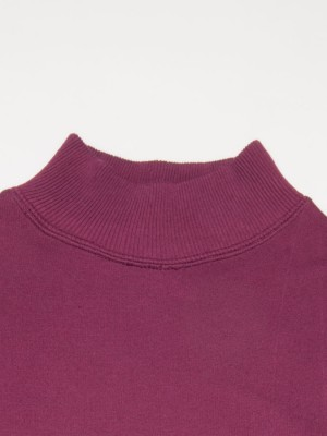 Seamless Thermal Long Sleeve Tee - Standing Collar