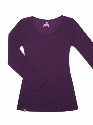 Modal Thermal Long Sleeve Tee - Round Neck